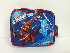 bdfb33f1d5 Marvel Spider Man Insulated Lunch Bag and One Bonus Spiderman Sunglasses  Set -- You can find out more details at the link of the image.