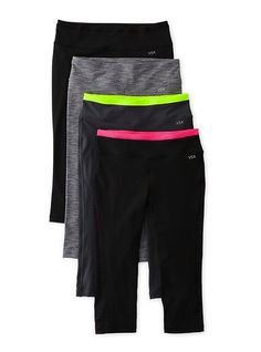 Love the VSX line. Great workout leggings. Not see-through, gives good shape.