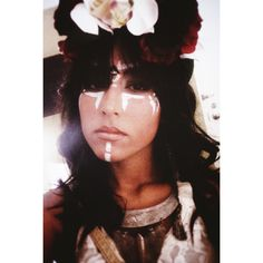 Tribal makeup, rave makeup