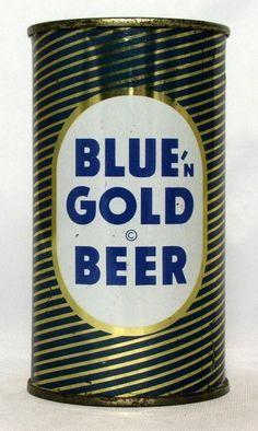 Blue'n Gold - Steel Canvas