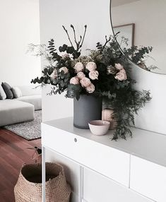 florals at home