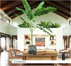 doors and fixed windows Filipino House, White House Interior, Atrium Design, Tropical Houses, Modern Tropical, Zen Interiors, Rest House, Bali, Villa