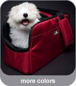 Travel with ease thanks to the Sleepypod Atom Designer Dog Carrier! This sleek airline approved dog carrier has been crash-tested and can be used as a car seat! Online Pet Supplies, Dog Supplies, Airline Pet Carrier, Dog Safety, Child Safety, Dog Car Seats, Cat Carrier, Dog Crate, Pet Beds