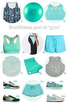 Una selección de ropa de deporte bonita y bonitista para enfrentarnos cara a cara a la operación biquini. ¡Nos la vamos a comer!