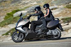 BMW C 650 GT with Pillion