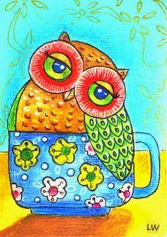 Teacup owl