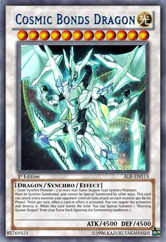 Cosmic Bonds Dragon by LightKeybladeMaster
