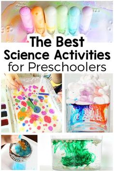 These simple science activities for preschoolers are sure to be a hit! From science experiments to sensory explorations to STEAM activities, plan your science lessons with these hands-on activities!