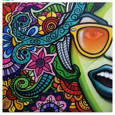 Zentangle pattern with face and glasses Powerful Art, Wild Style, Graffiti Wall, Zentangle Patterns, Natural Forms, Art Plastique, Something To Do, Roots, Google