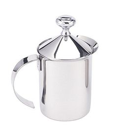 HIC Milk Creamer Frother Cappuccino Coffee Foam Pitcher w...