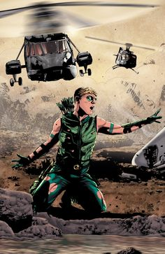 #Green #Arrow #Fan #Art. (Green Arrow) By: Andrea Sorrentino. [THANK U 4 PINNING!!]