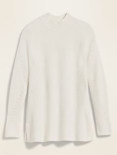 Cozy Textured Tunic Sweater for Women Shop Old Navy, Tunic Sweater, Shoulder Sleeve, What I Wore, Rib Knit, Spring Summer Fashion, Petite Size, Sweaters For Women, Winter
