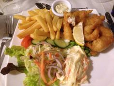 Langoustine at Mariners, Ullapool Wester Ross, Scotland, Chicken, Food, Essen, Meals, Yemek, Eten, Cubs
