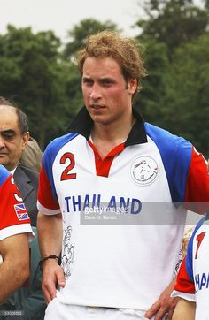 HRH Prince William is seen at the Chakravarty Cup Polo match between Team Thailand and Team Dubai played at the Ham Polo Club June 11, 2005 in Richmond, England.