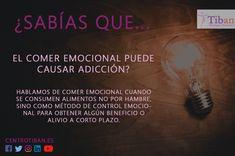⚠️ ¿Sabias que...😮😮 ➡️➡️➡️El comer emocional puede causar adicción?