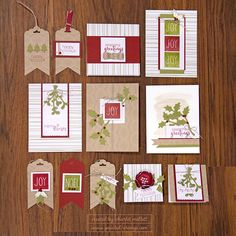 November's Paper Pumpkin Kit is called Mistletoe and Holly and it is super  cute!