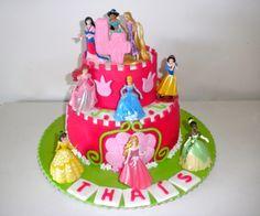 bolo castelo das princesas disney