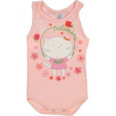 Body Regata Nadador para Bebê Menina - Patimini
