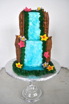 Moana Theme Birthday Cake Sugar Bee Sweets Bakery www.sugarbeesweets.com Moana Theme Birthday, Birthday Cake, Party Themes, Bakery, Kid Cakes, Sweets, Sugar, Desserts, Hawaii