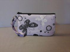 Lavender Butterfly & Daisey Wristlet, https://www.facebook.com/BlackNook