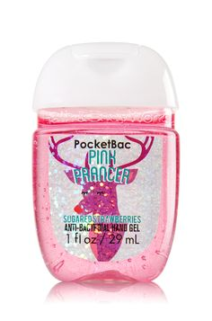Pink Prancer PocketBac Sanitizing Hand Gel - Soap/Sanitizer - Bath & Body Works