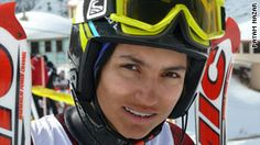 Marjan Kalhor, Olympic skier from Iran