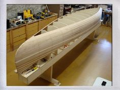 Hand building a wooden canoe, my newest adventure this winter