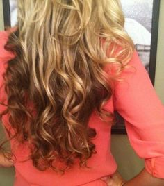 Reverse ombre I love this!!!