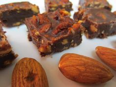 Paleo Crunch Fudge ~ this is probably not the healthiest thing you can eat when trying to lose weight but as a once in a while treat but let me tell you, it is absolutely amazing.