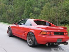 Although it would be a bit of a stretch to directly compare a MR2 to a Daytona prototype, or even a Ferrari, Robert Canter doesn't care. At first glance, this car is very clean and subtle. Click to keep reading about Robert's 1991 Toyota MR2. - Modified Magazine