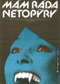 I LIKE BATS Artist: Jaroš,Alexej  Origin of film: Poland  Year of poster: 1987  Director: GrzegorzWarchol