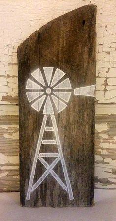 Windmill Wall Decor Wood Wall Art Windmill Sign Windmill