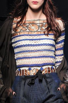 artofashion:  Jean Paul Gaultier Couture Fall 2015 - Details