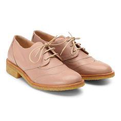 Stylové a pohodlné dámské kožené boty v jemném růžovém provedení.