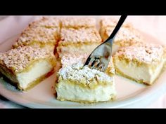 Ha van némi joghurtod, készítsd el ezt a szuper krémes süteményt! # 423 - YouTube Sweet Recipes, Cake Recipes, Dessert Recipes, Baking With Yogurt, Yogurt Cake, New Cake, Sweet Tarts, Sweet Bread, No Bake Desserts
