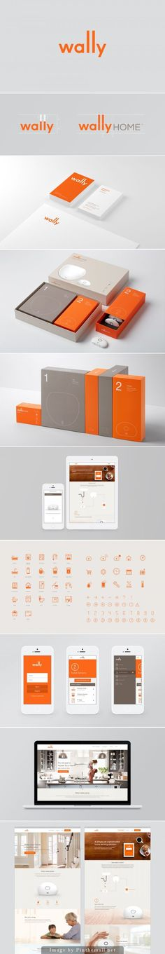 Wally Home Branding by character