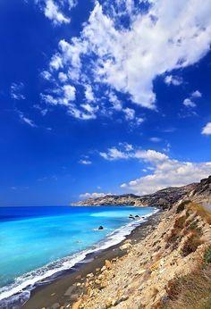 """On the road to Tertsa"" by Hercules Milas | Redbubble Crete Island, Heraklion, Most Beautiful Beaches, Beach Look, Hercules, Summer Looks, Wonders Of The World, Greece, Water"