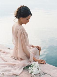 Photography: Joseba Sandoval - www.romanceweddings.co.uk Wedding Dress: Rhea Acosta - www.rheacosta.com/   Read More on SMP: http://www.stylemepretty.com/2015/10/06/montenegro-bay-of-kotor-wedding/