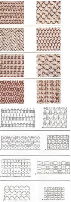 Watch This Video Beauteous Finished Make Crochet Look Like Knitting (the Waistcoat Stitch) Ideas. Amazing Make Crochet Look Like Knitting (the Waistcoat Stitch) Ideas. Crochet Diy, Crochet Motifs, Crochet Diagram, Crochet Stitches Patterns, Crochet Chart, Crochet Squares, Filet Crochet, Knitting Stitches, Crochet Designs
