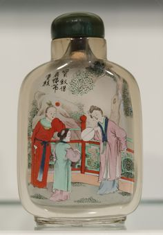 Ancient snuff bottle collection. Seattle Art Museum, Asian Art Museum, Painted Bottles, Bottle Painting, Vase, Seasons, Collection, Seasons Of The Year, Flower Vases