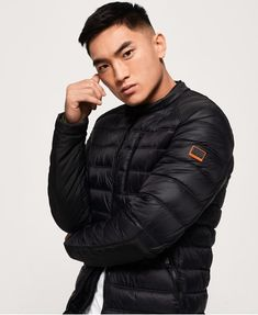 Shop Superdry Mens Commuter Quilted Biker Jacket in Olive. Buy now with free delivery from the Official Superdry Store. Superdry Jackets, Superdry Mens, Men's Jackets, Black Parka Jacket, Leather Jacket, Nylons, Mens Down Jacket, Revival Clothing, Mens Fashion Blazer