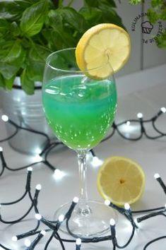 Drink Wa Hoo Wa - idelany drink na imprezę! Blue Curacao, Cocktails, Drinks, Margarita, Champagne, Wine, Tableware, Impreza, Gastronomia