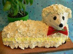 Beránek s česnekovou vůní Lamb Cake, Easter Lamb, Sushi, Food And Drink, Ethnic Recipes, Sweet Pastries
