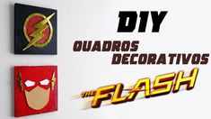 DIY: Quadros Decorativos THE FLASH