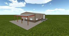 3D #architecture via @themuellerinc http://ift.tt/2hvDMoV #barn #workshop #greenhouse #garage #DIY