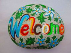 Painted Rock WELCOME