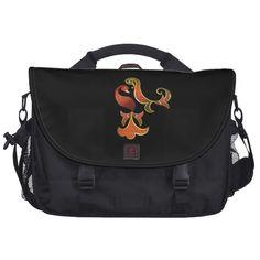 Beautiful paradise birds satchel commuter bags