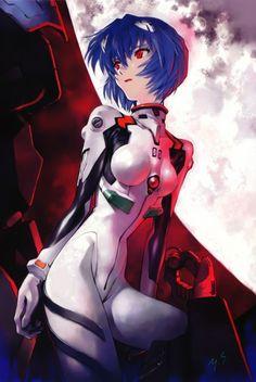 Yoshiyuki Sadamoto, Gainax, Neon Genesis Evangelion, Carmine, Rei Ayanami