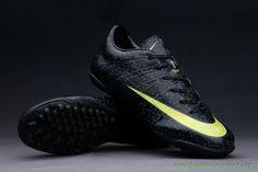 TF Leopard Nike Mercurial Vapor 10 Superfly IIII Black World Soccer Shop