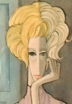 margaret keane self portrait - Google Search